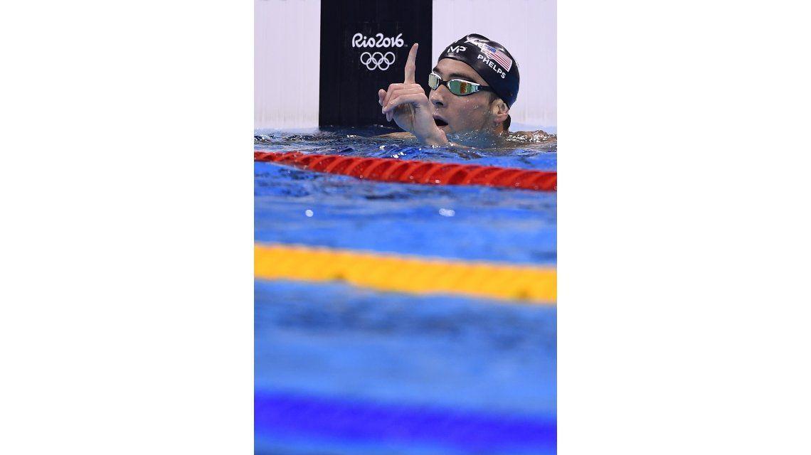 Michael Phelps, la gran figura de los Juegos Olímpicos de Río 2016