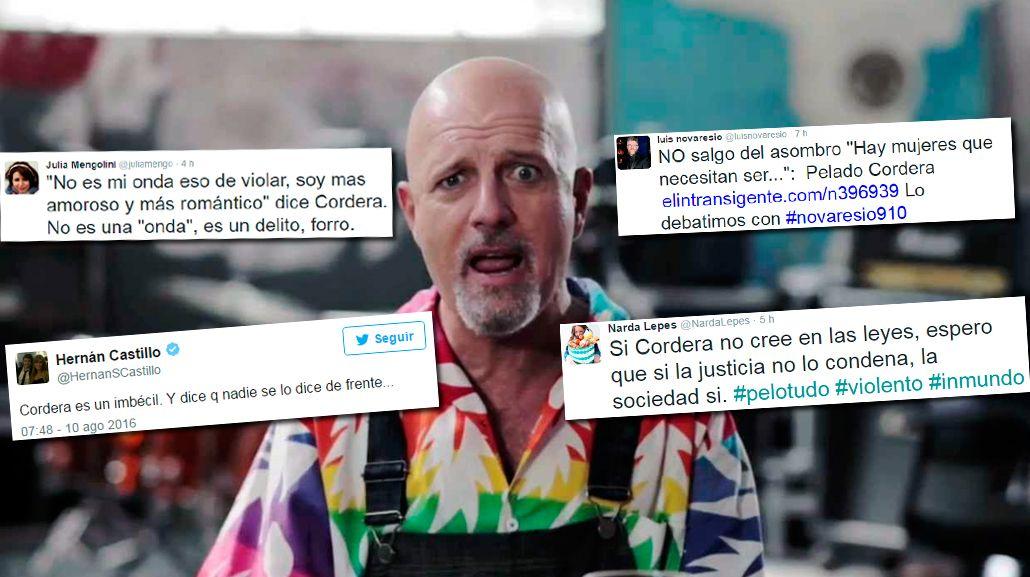 El repudio de los famosos a las declaraciones de Gustavo Cordera