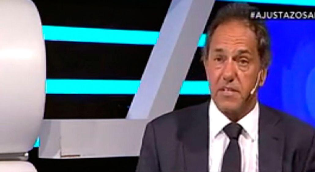 Scioli: Mucha gente se da cuenta y me dice que yo tenía razón