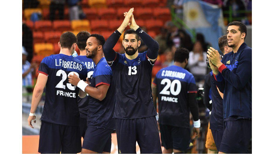 Derrota digna de Los Gladiadores del handball ante la potencia Francia