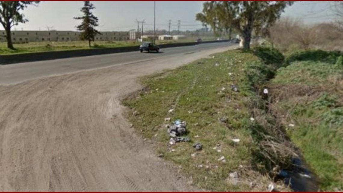 Un remisero ahorcó a una moza con su propia chalina y tiró el cuerpo en la ruta