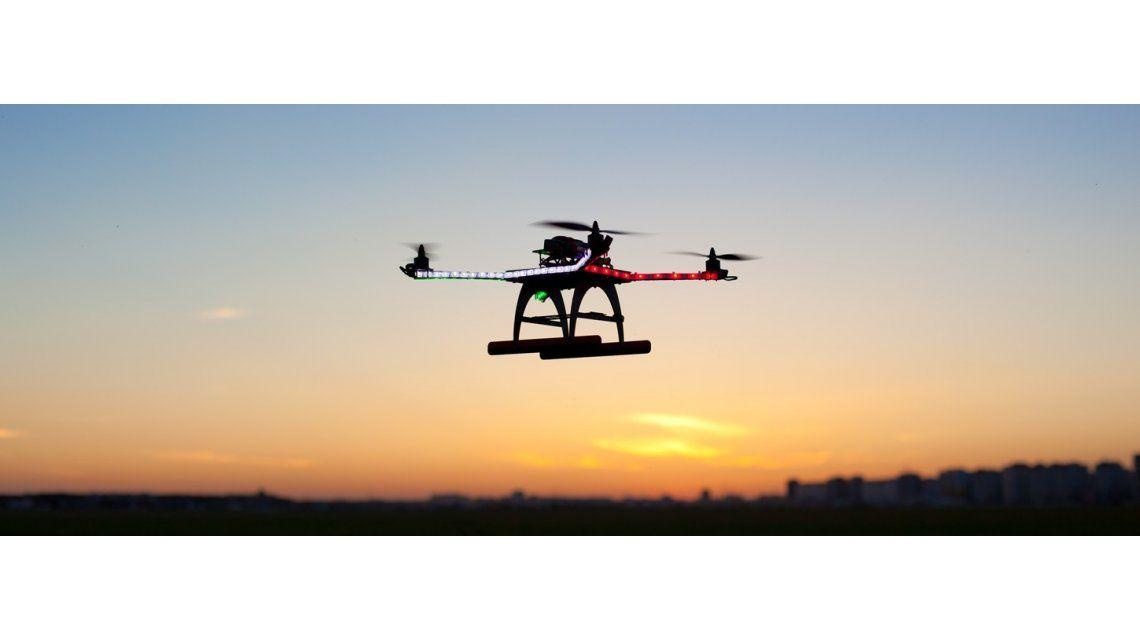 Drones para atrapar contaminación y luego reciclarla para impresión 3D