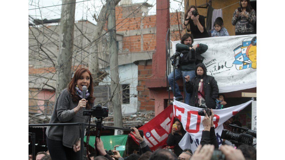 Irónica, CFK desafió a Bullrich: La villa 31 es el lugar más seguro del país, al menos para mí