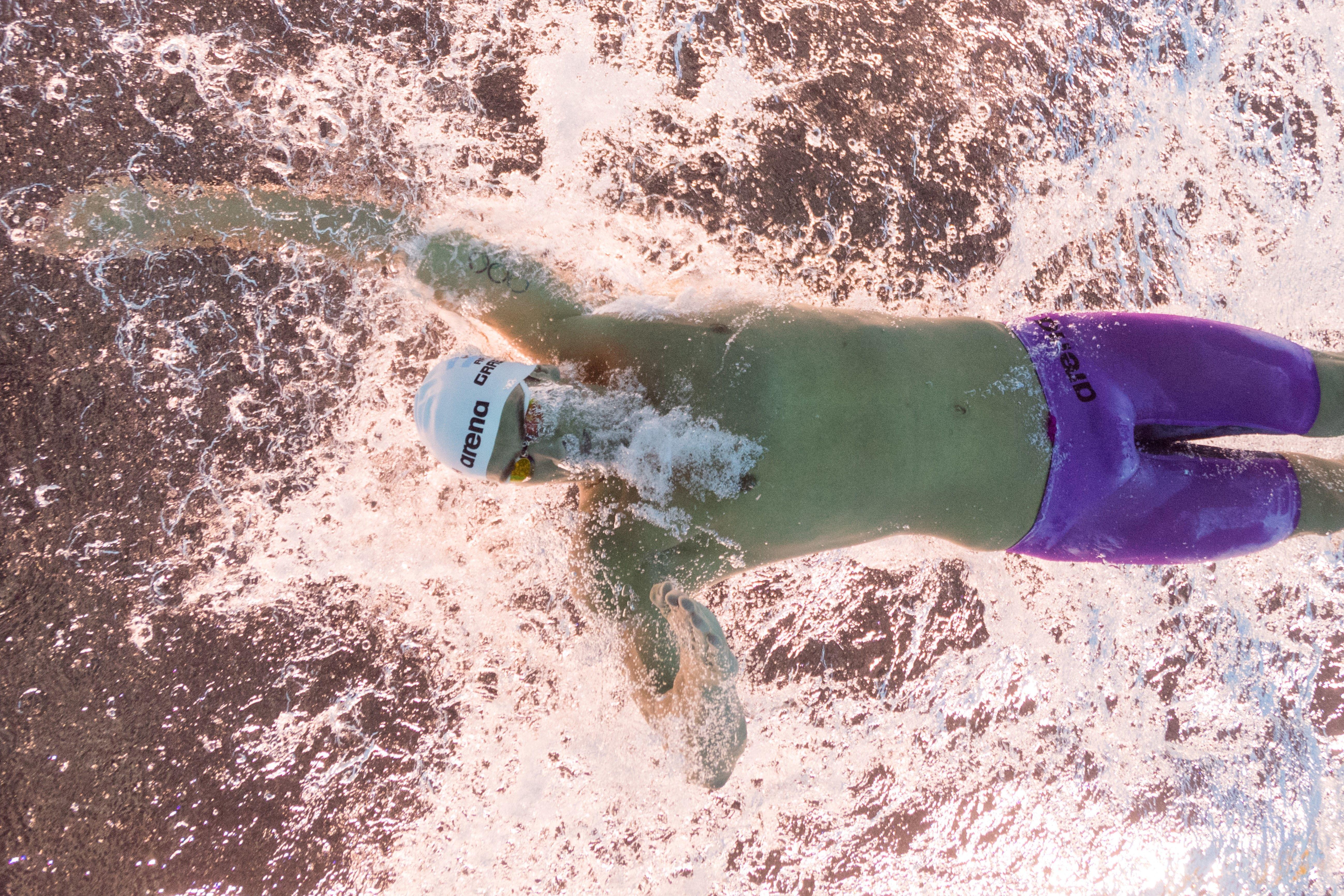 Fede Grabich no tuvo un buen día y quedó afuera de las semis en 100 metros