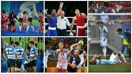 Tristeza nao tem fin: miércoles negro para el deporte argentino en Río