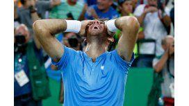 Emocionante: Del Potro venció a Nadal y va por el oro frente a Andy Murray