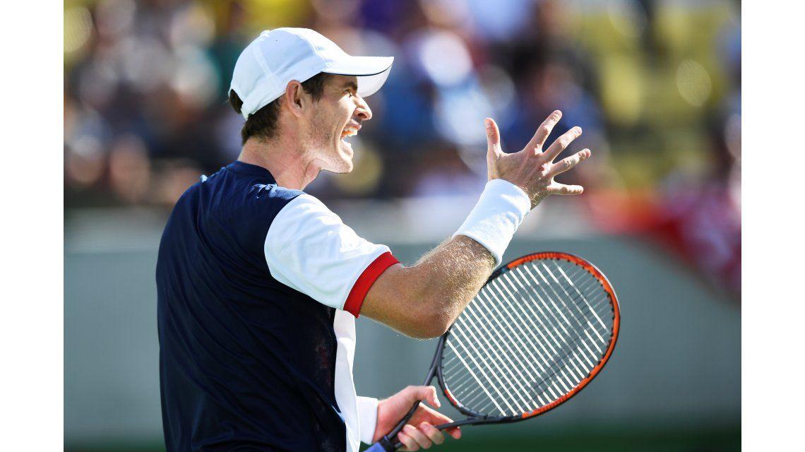 Murray sufrió ante Fognini pero se metió en cuartos de los Juegos Olímpicos