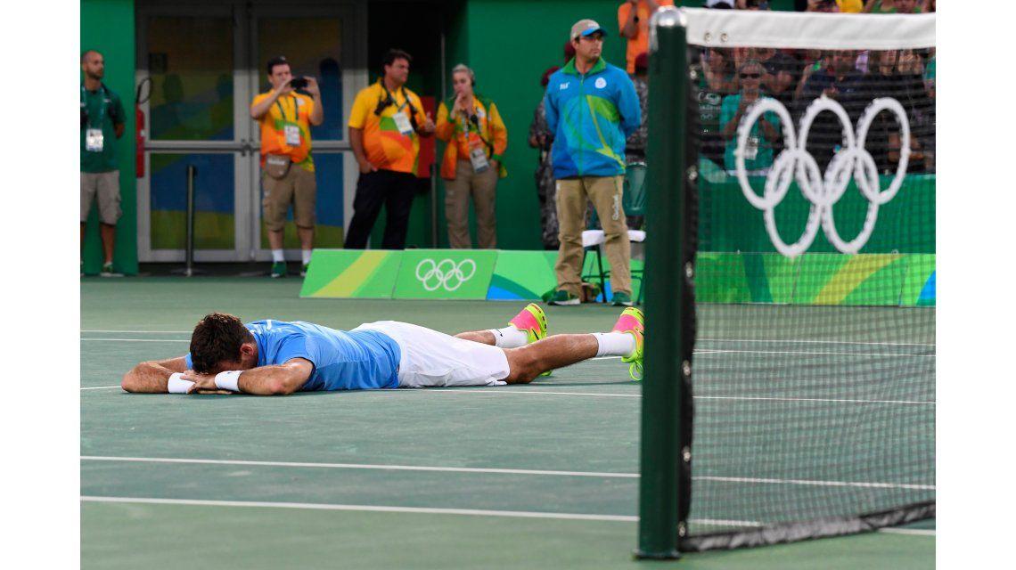 Emocionante: Del Potro le ganó a Nadal e irá por la medalla de oro ante Murray