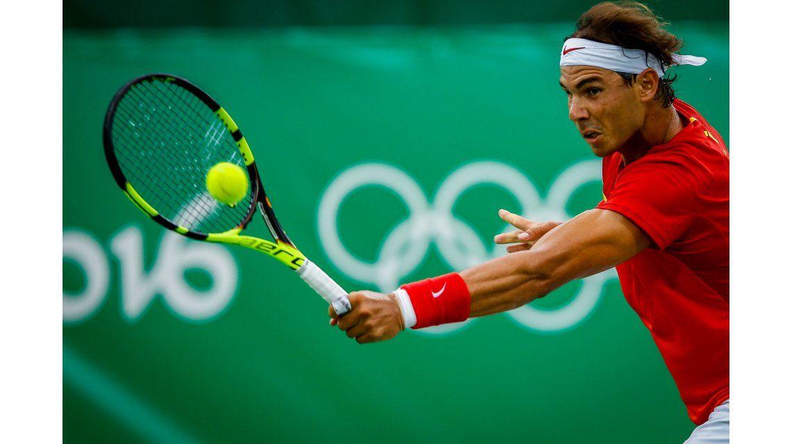 Delbonis no pudo dar el golpe y fue eliminado por Rafa Nadal en su debut