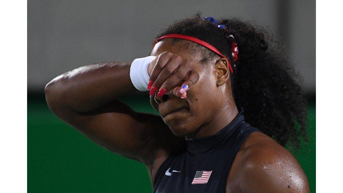 Otra sorpresa en Río: Serena Williams fue eliminada en tercera ronda