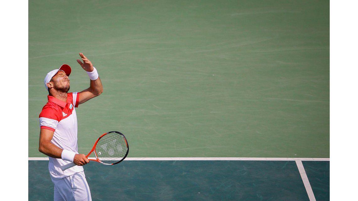 Juan Mónaco no pudo y fue vapuleado por Andy Murray