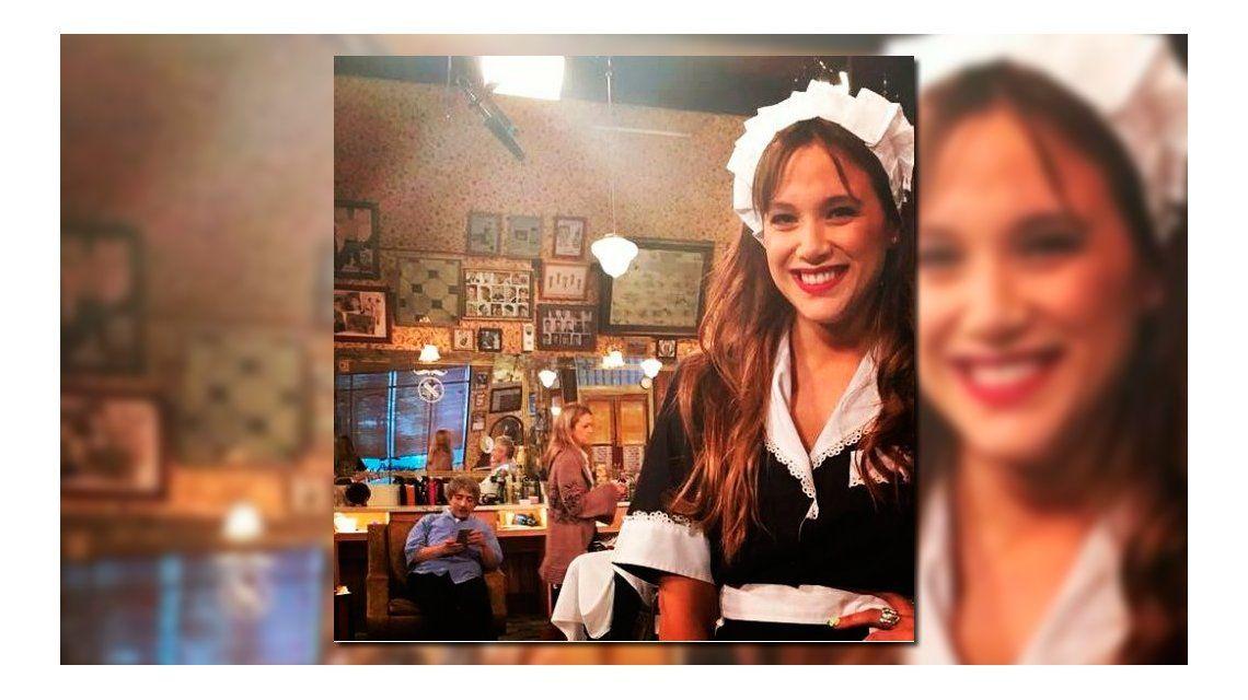 En medio del escándalo con Fede Bal, Barbie Vélez hizo de mucama sexy en La Peluquería de Don Mateo
