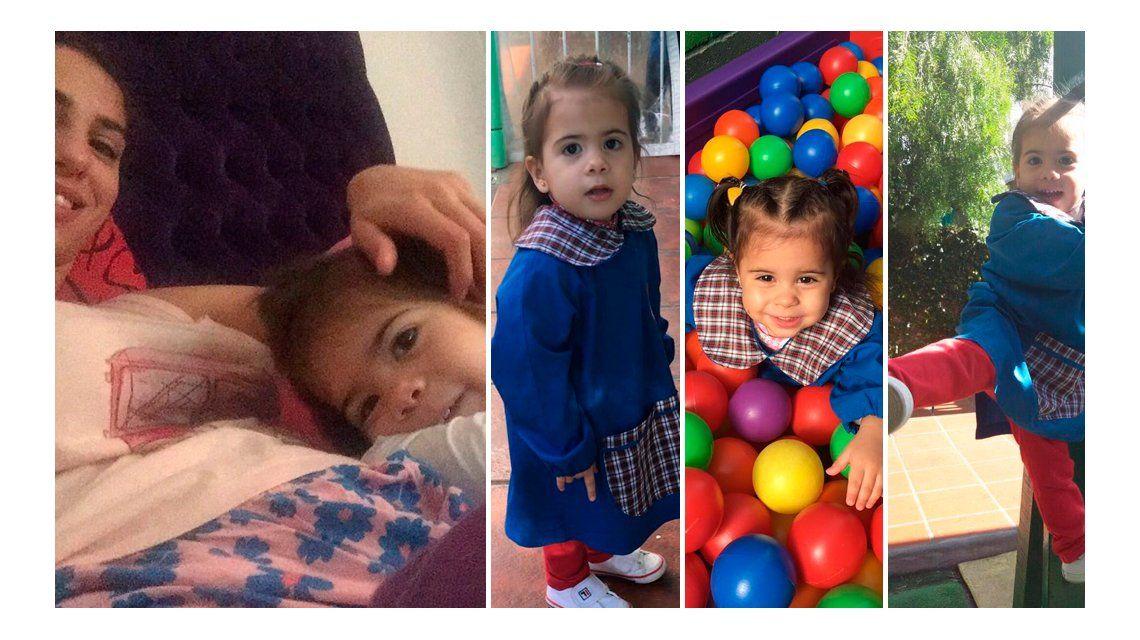FOTOS: en medio de una crisis con Defederico, Cinthia Fernández se refugia en sus hijas