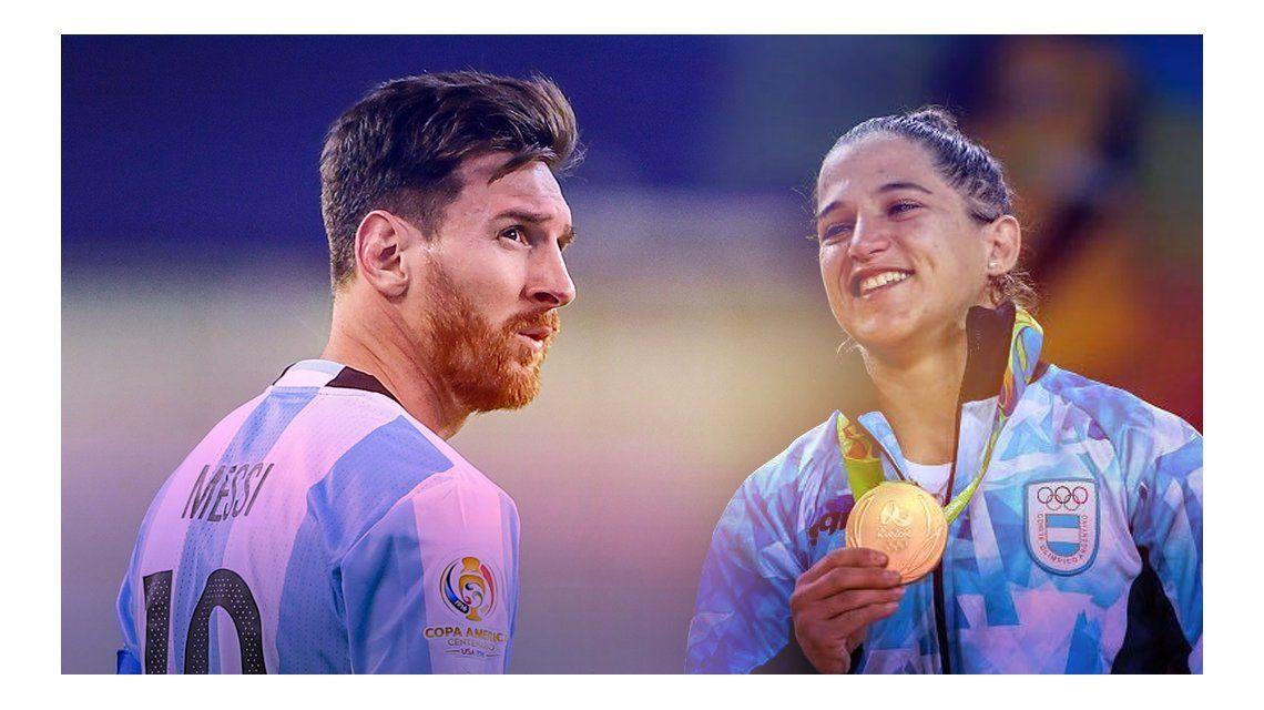 El mensaje alentador de Messi por el oro de Pareto