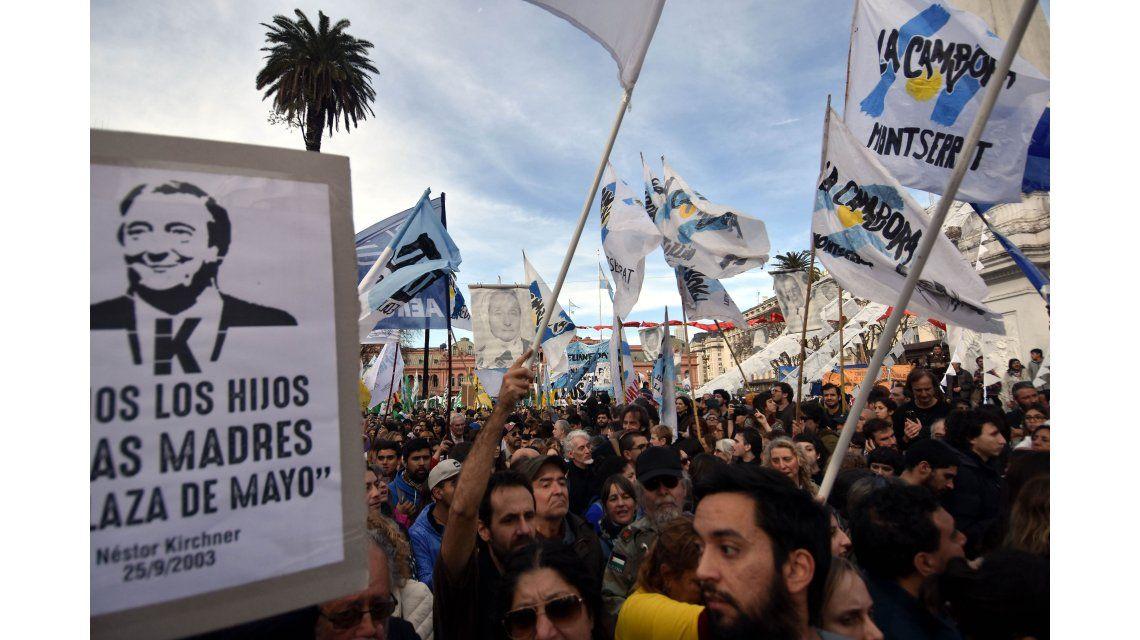 ¿Cómo será la marcha de la resistencia prevista contra Macri?
