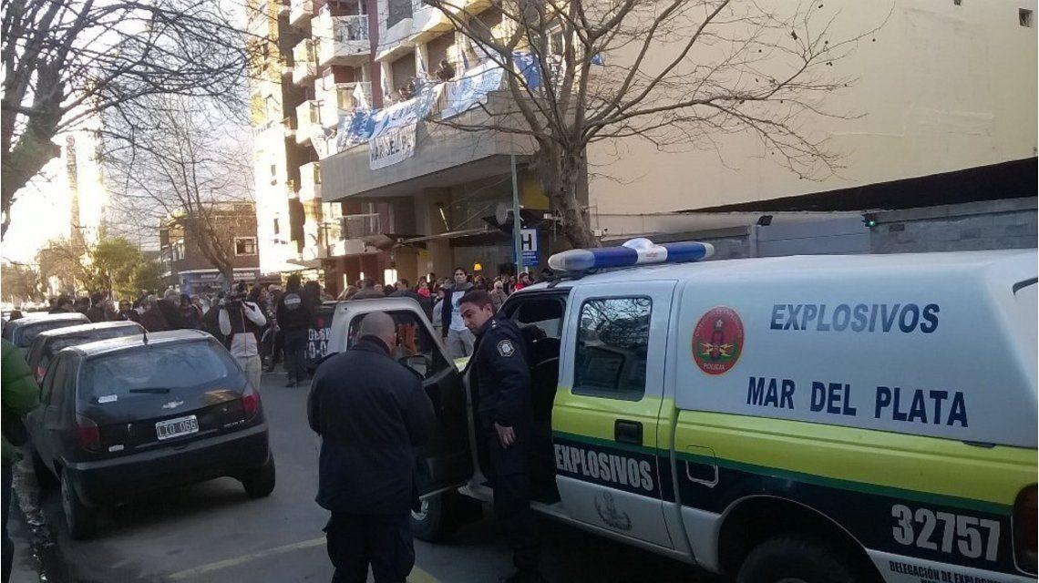 Falsa amenaza de bomba en el hotel donde se encuentra Hebe de Bonafini