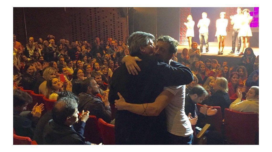 La emotiva visita de Carlín Calvo a Nico Vázquez