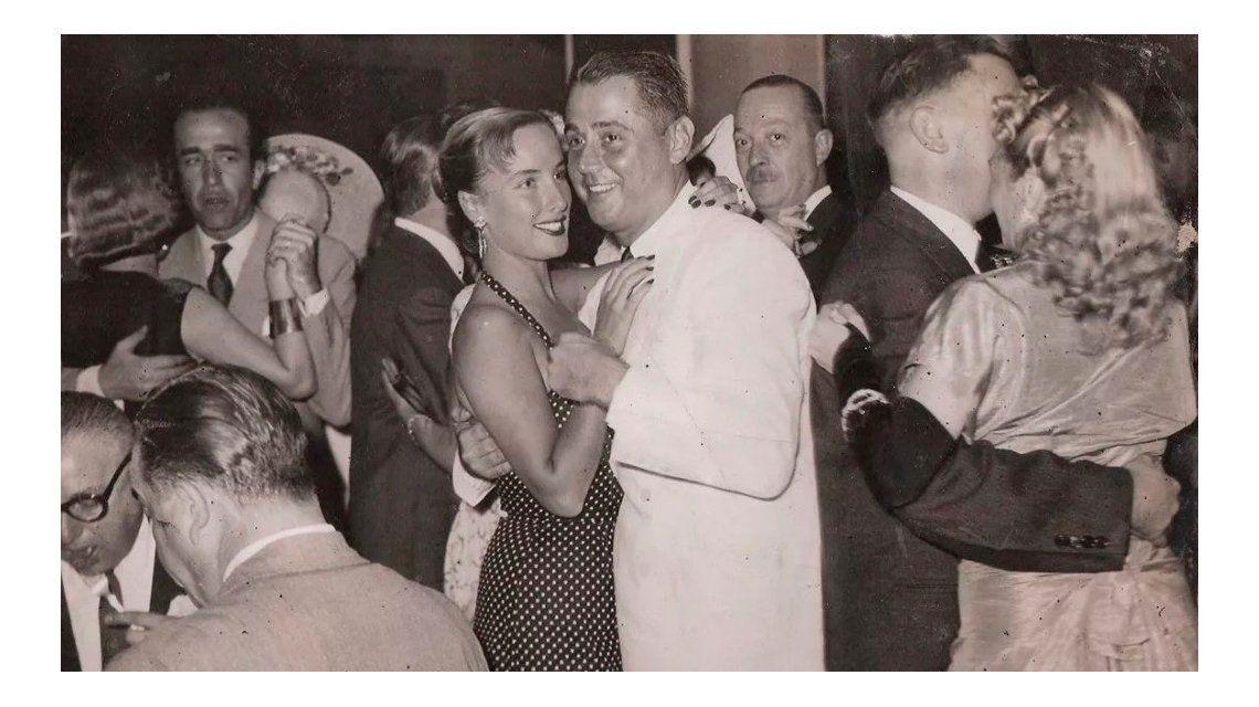 La foto vintage de Mirtha Legrand y Daniel Tinayre