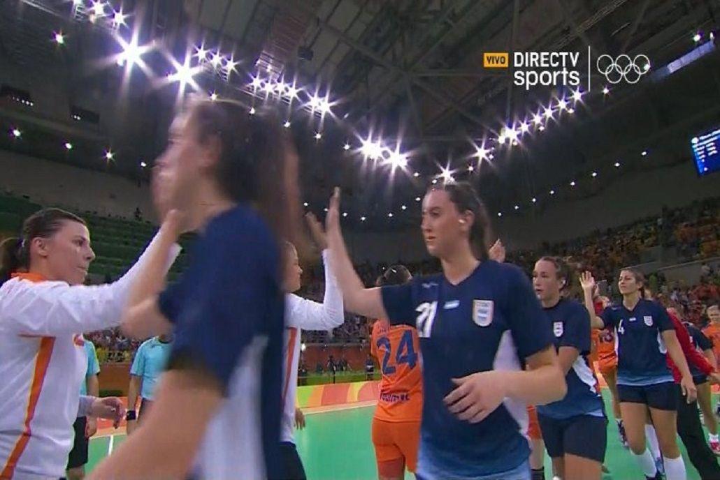 Argentina cayó en handball femenino ante Holanda