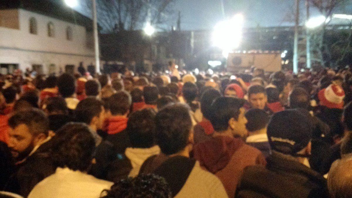 Incidentes en Lanús con barras de Independiente: hay 40 detenidos