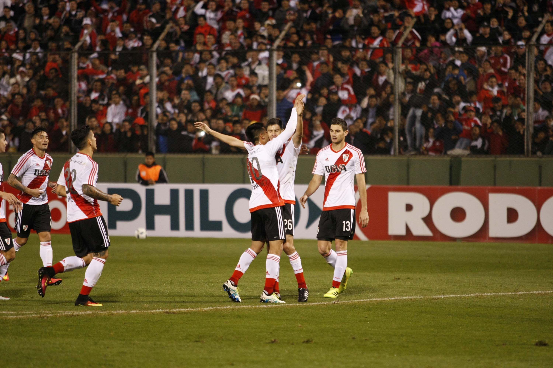 Con el último suspiro, River le ganó a Estudiantes de San Luis en Salta