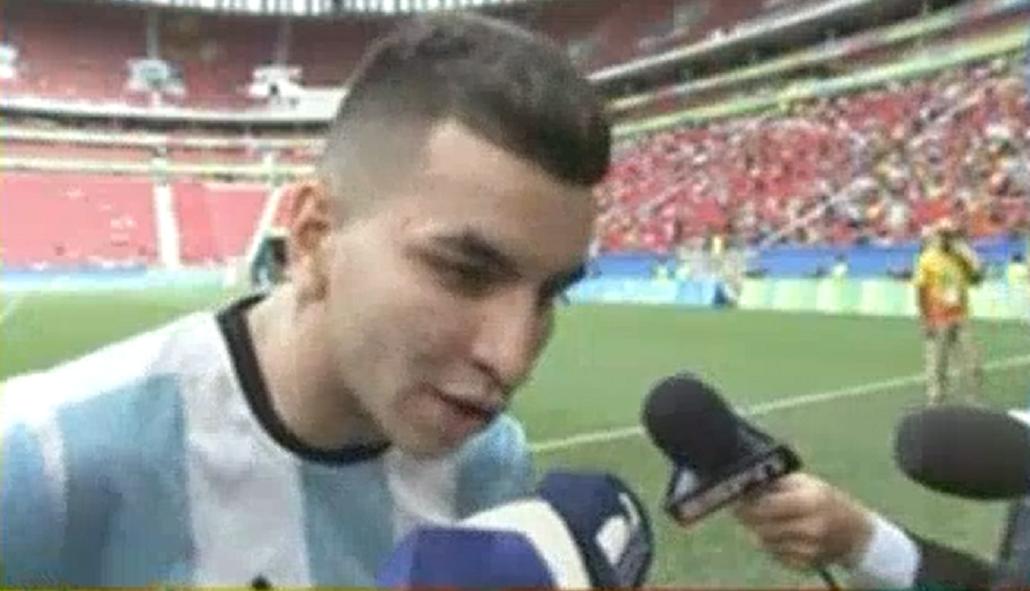 La figura de Argentina, decepcionado: En Ezeiza éramos 8 entrenando