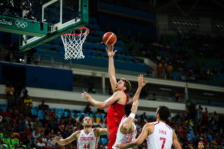 Croacia dio el batacazo en básquet y venció a España con una jugada para el recuerdo