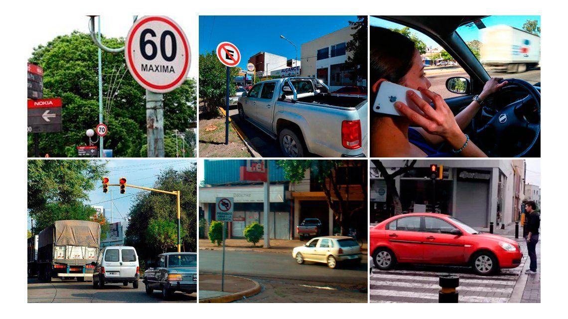 Tránsito: éstas son las 10 infracciones más comunes en lo que va de 2016