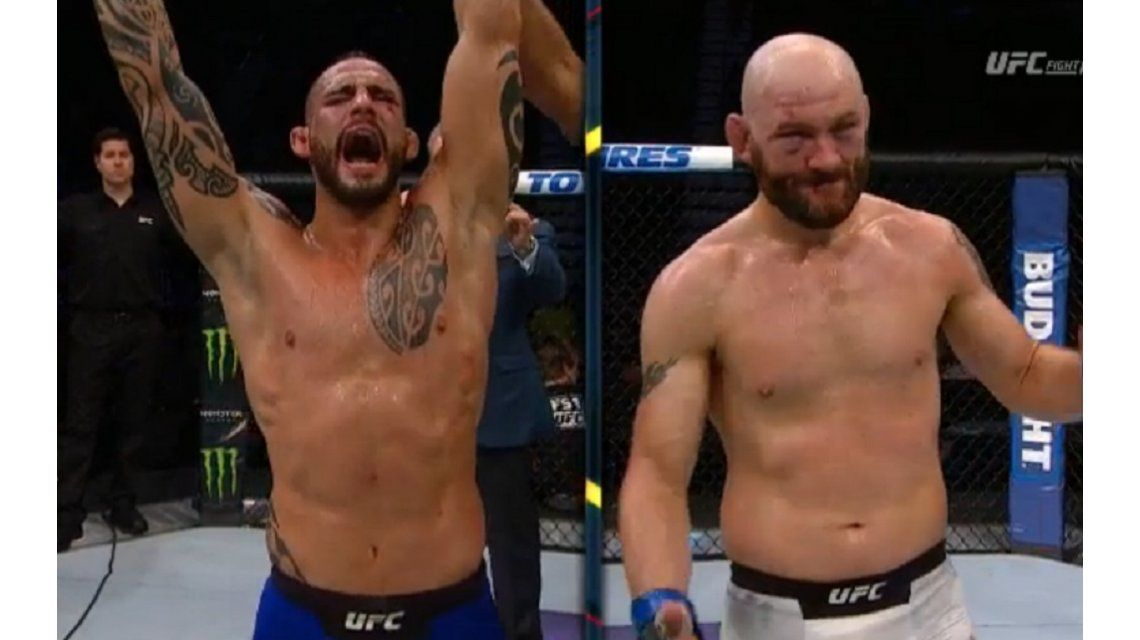 Ponzinibbio brilló en Salt Lake City y sumó un nuevo triunfo en UFC