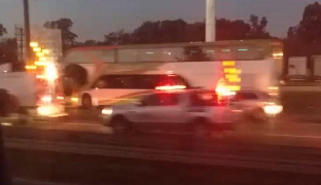 Una mujer manejó a contramano por Panamericana, chocó y murió
