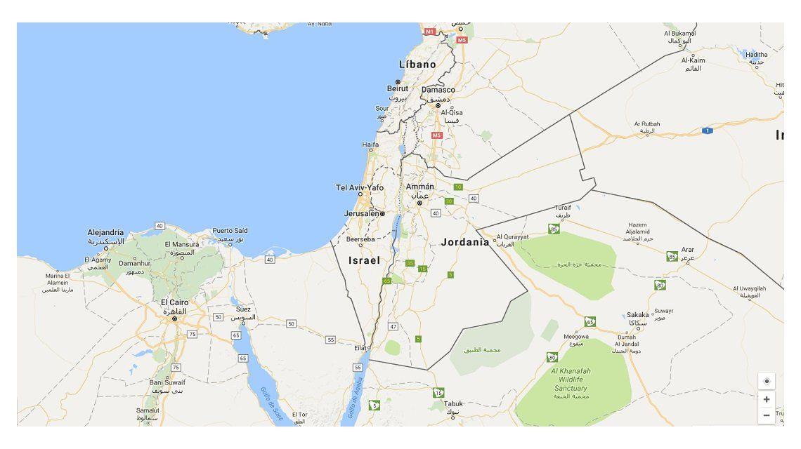 Polémica por la desaparición de Palestina en favor de Israel en ...