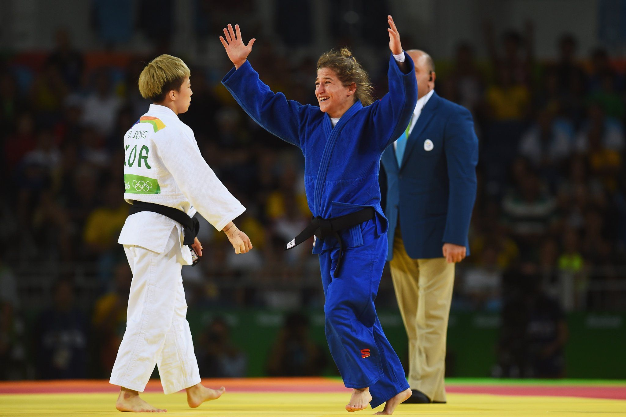 Así fue la emocionante celebración de Paula Pareto al ganar la medalla de oro