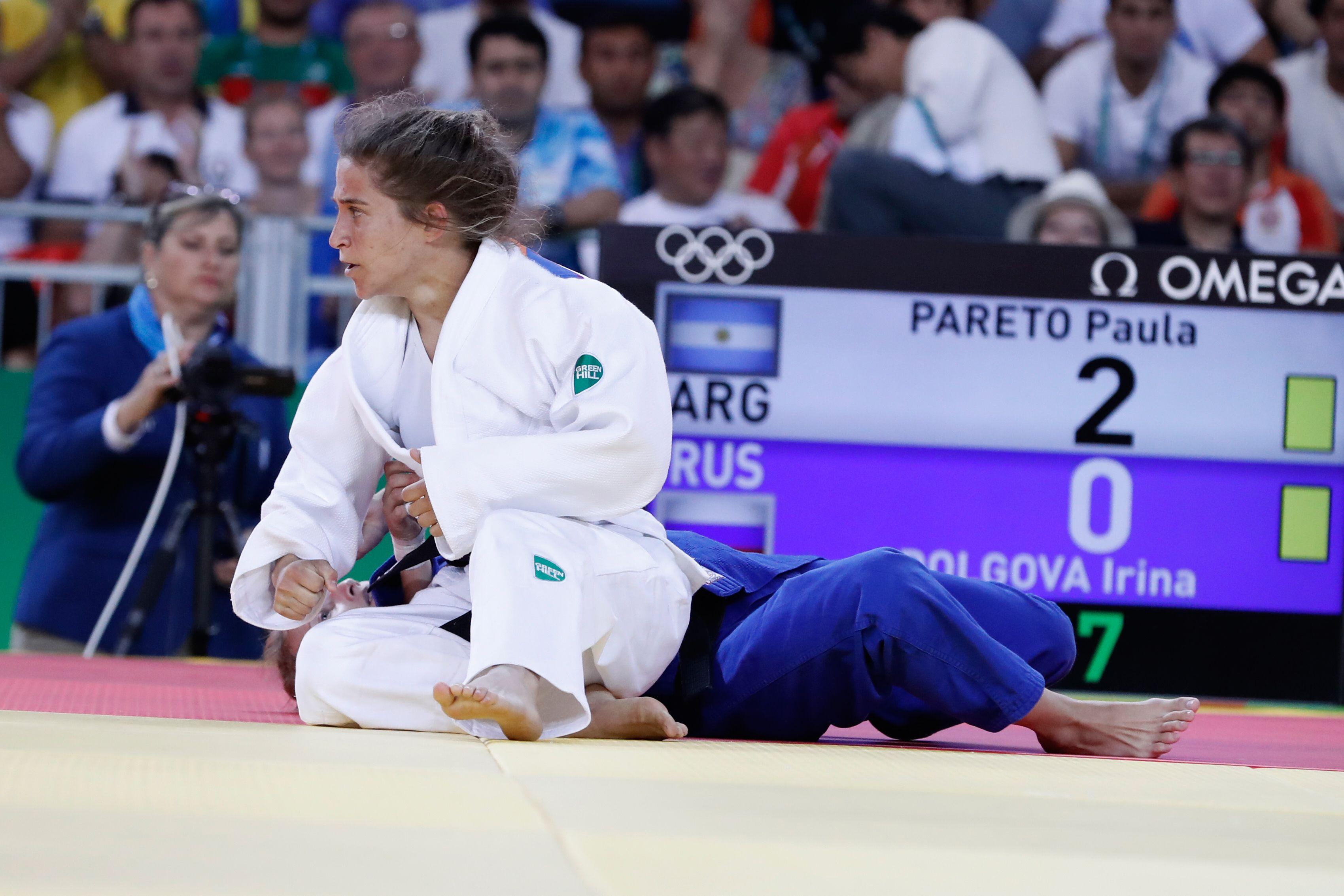 La hazaña de la judoca Paula Pareto para llegar al oro