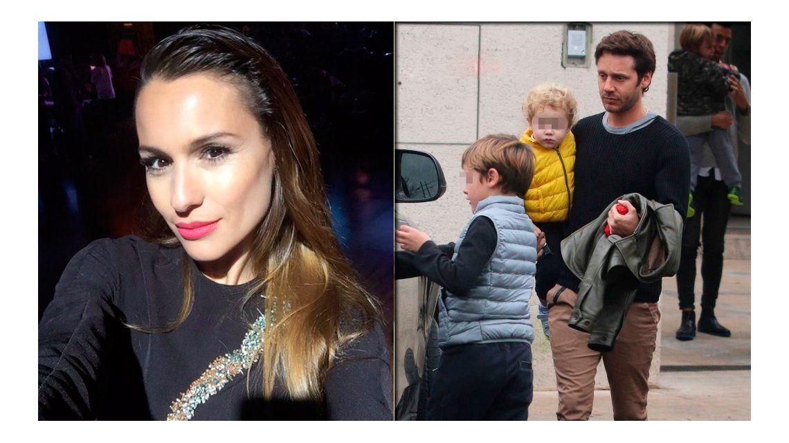 Pampita denunció que Vicuña ve a sus hijos cuatro veces por mes
