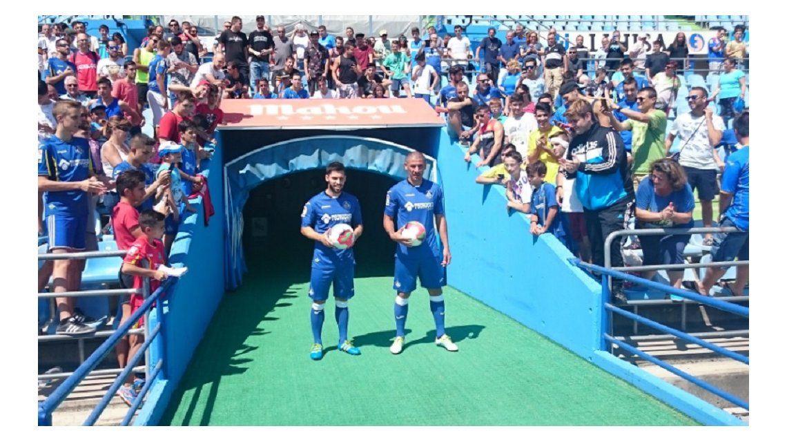 Tras su salida de Boca, el Cata Díaz confirmó que se retirará en el Getafe