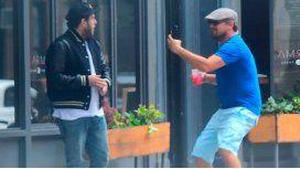 La broma de mal gusto de Leo Di Caprio a Jonah Hill en plena calle