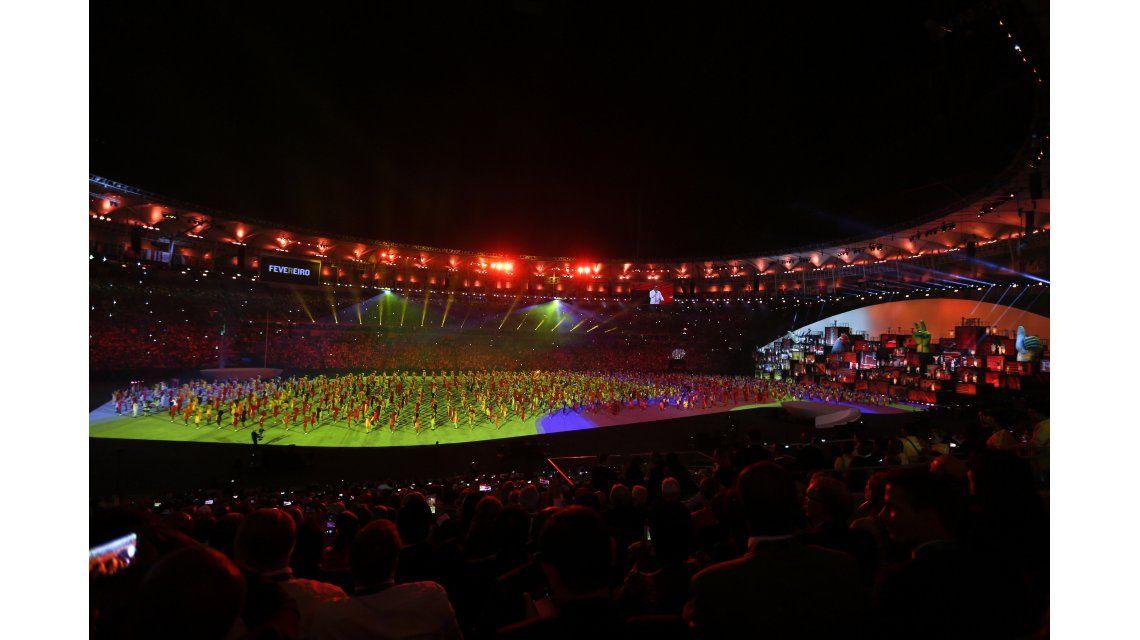 Comenzaron los Juegos Olimpicos de Río 2016: así se vive la ceremonia de apertura