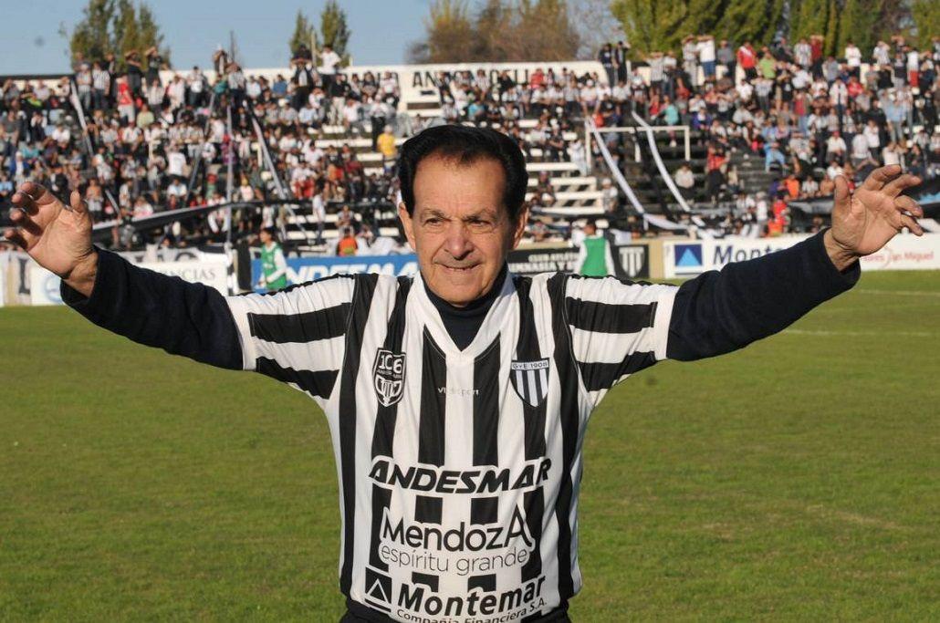 Se accidentó Víctor Legrotaglie, una gloria del fútbol mendocino