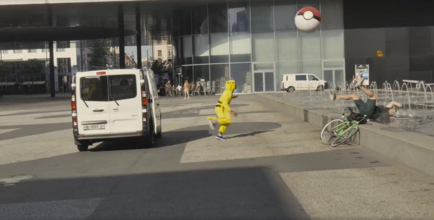 VIDEO: Mirá la venganza de los Pokémon contra los fanáticos del juego
