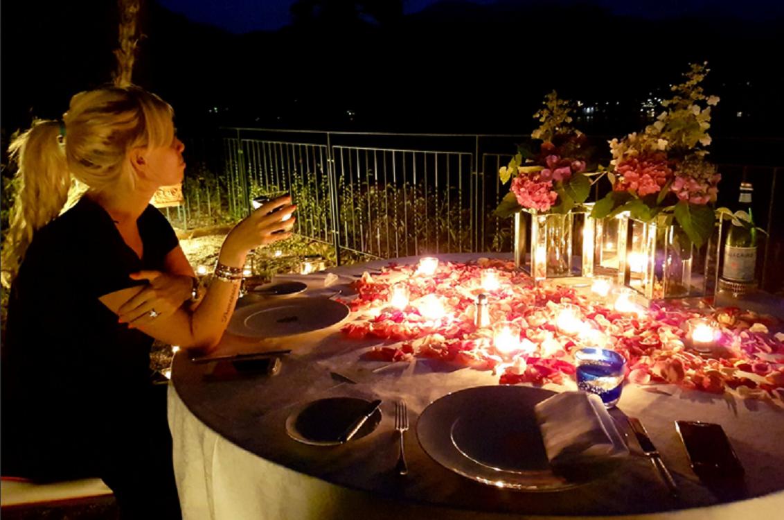 La cena millonaria que Icardi le regaló a Wanda: platos con oro, hidromasajes y romanticismo