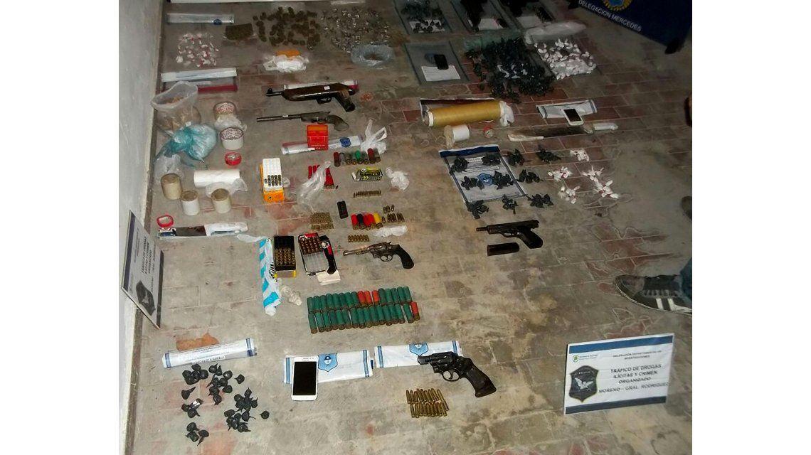 Duro enfrentamiento entre policías y narcos al desbaratar un bunker en General Rodríguez
