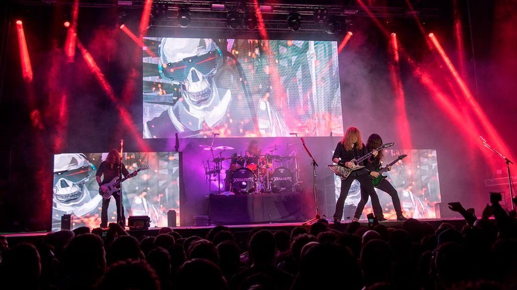 Un hombre recibió tres puñaladas durante un concierto de Megadeth en Neuquén