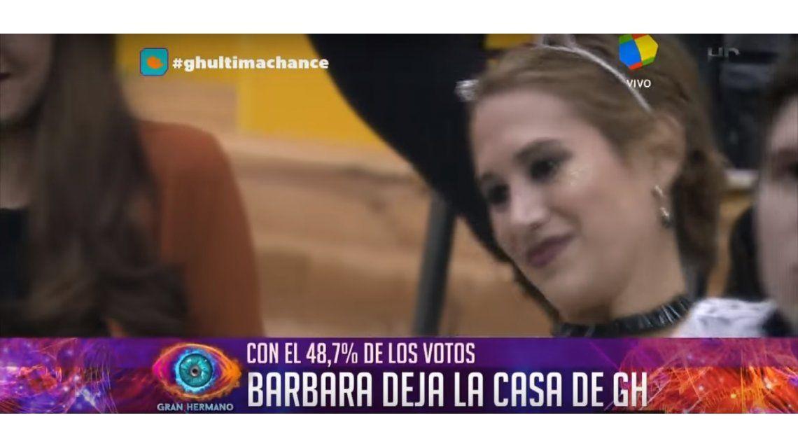 Bárbara perdió con Mauricio y se tuvo que ir de Gran Hermano 2016