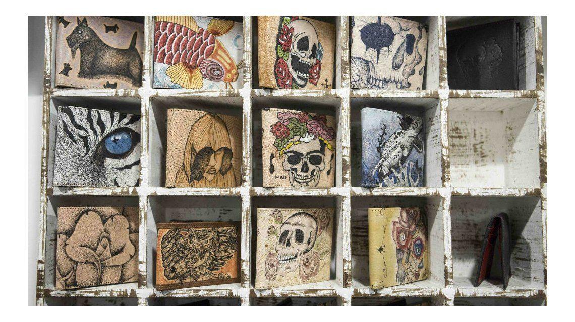 Prision Art: conocé las carteras de diseño hechas por presos en México