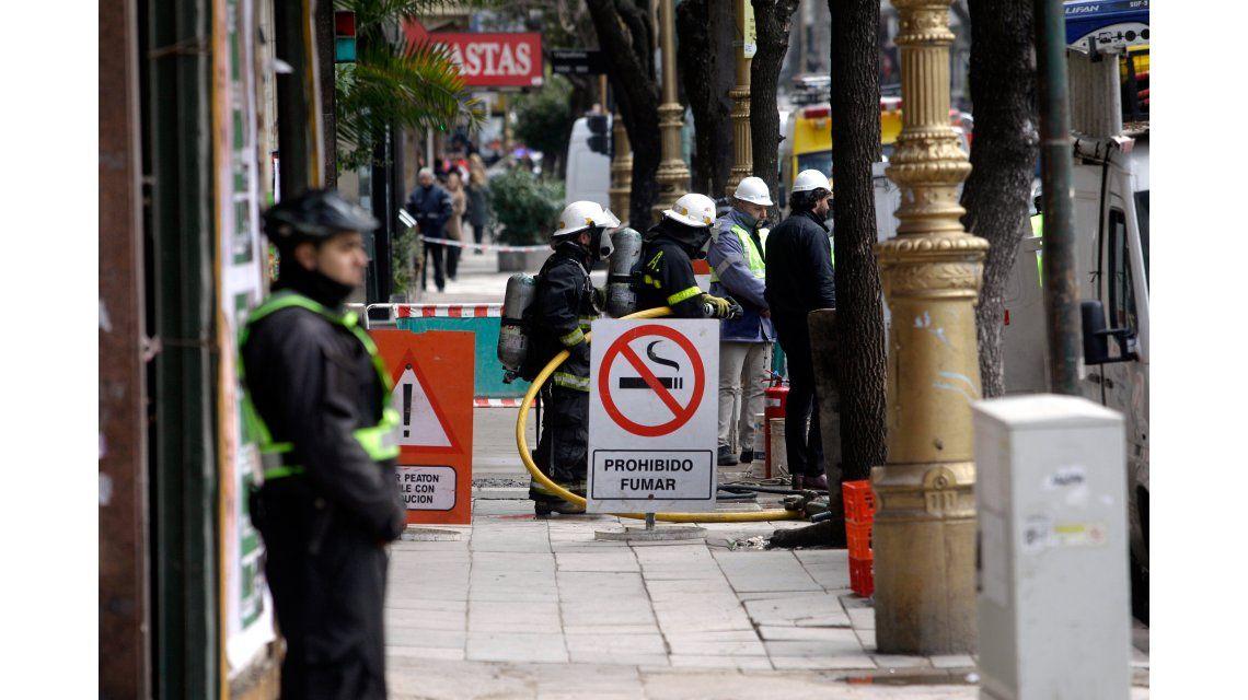 Escape de gas en Barracas: murió un operario y sobrevivieron otros dos
