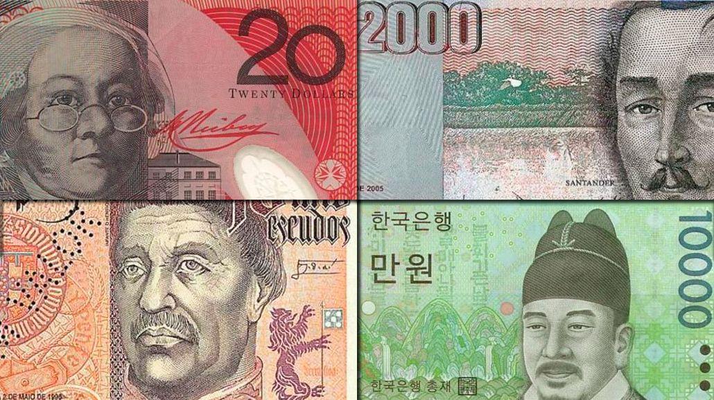 #TriviaM1: ¿A qué país le pertenece cada billete?