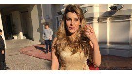 Qué dijo Charlotte Caniggia sobre la exuberante foto hot que tuvo que borrar