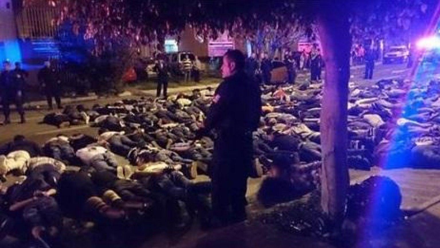 La fiesta del descontrol: terminó con más de 100 detenidos y dos policías heridos