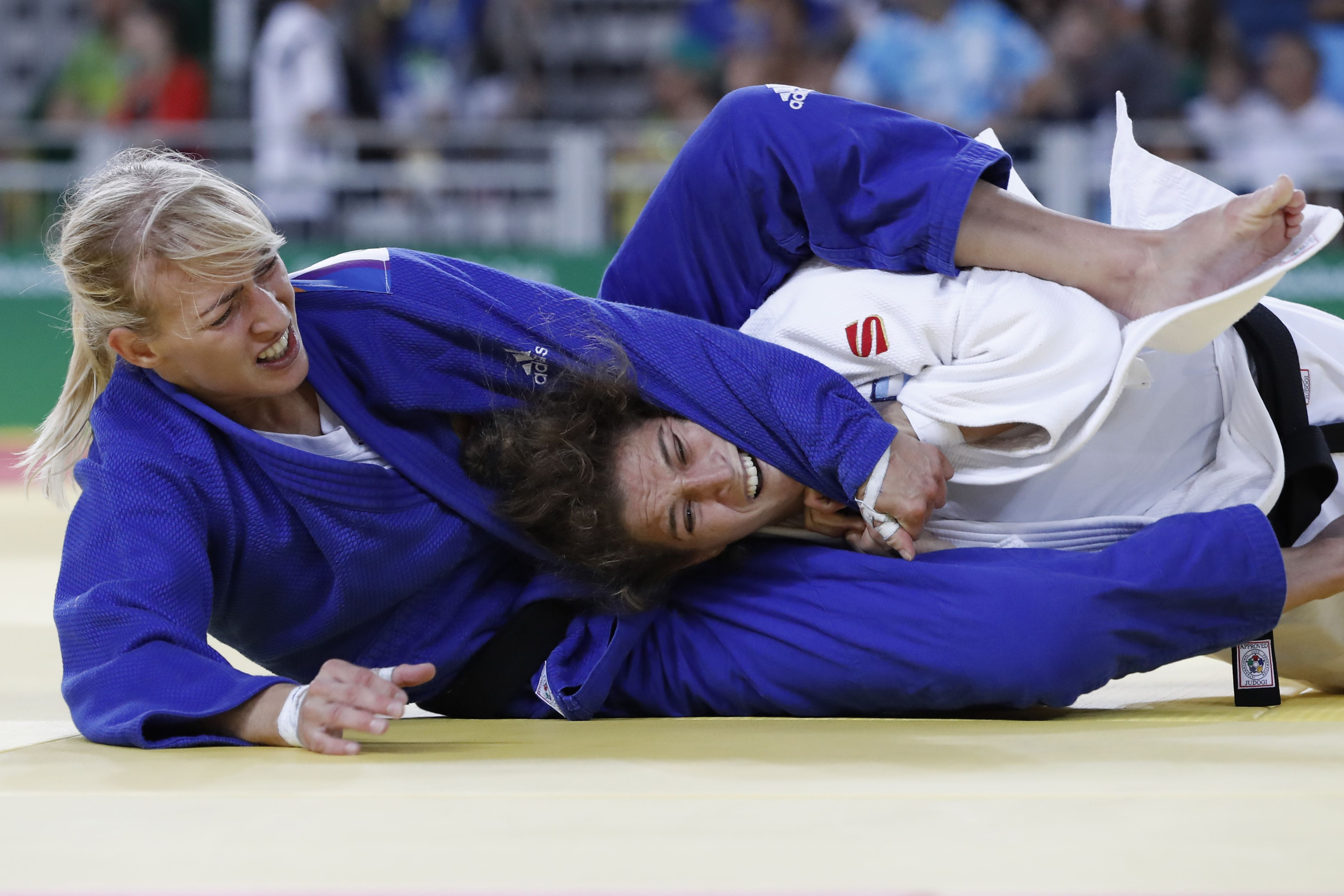 Enorme: la judoca Pareto está en semifinales de los Juegos Olímpicos