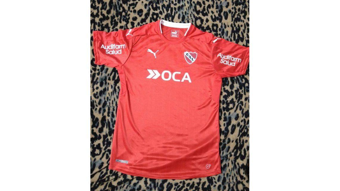 ¿Es la verdadera? Se filtró el nuevo modelo de camiseta de Independiente